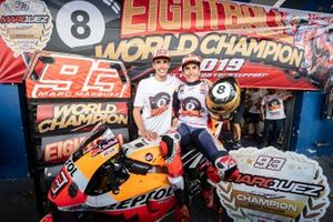 World Champion Marc Marquez, Repsol Honda Team, Alex Marquez