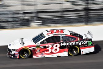 David Ragan, Front Row Motorsports, Ford Mustang Mannington Commercial