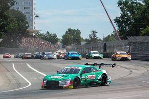 Race start,Nico Müller, Audi Sport Team Abt Sportsline, Audi RS 5 DTM
