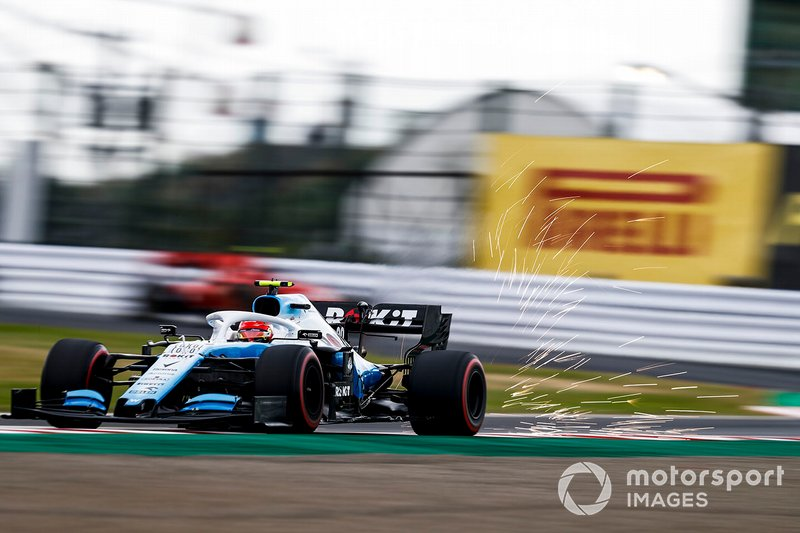 Robert Kubica, Williams FW42 (trening 2)