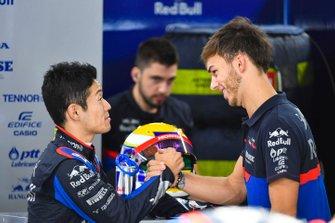 Naoki Yamamoto, Toro Rosso et Pierre Gasly, Toro Rosso
