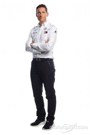 Ian James, managing director Mercedes-Benz Formula E