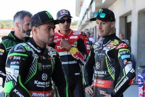 Jonathan Rea, Kawasaki Racing Team, Leon Haslam, Kawasaki Racing Team