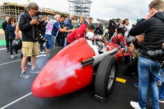 Kimi Raikkonen, Alfa Romeo Racing, Alfa Romeo 159'u deniyor