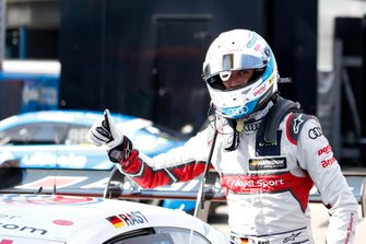 Polesitter René Rast, Audi Sport Team Rosberg