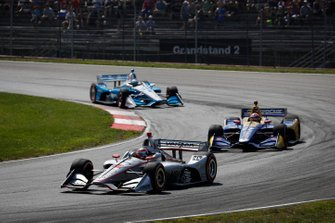 Will Power, Team Penske Chevrolet, Alexander Rossi, Andretti Autosport Honda, Josef Newgarden, Team Penske Chevrolet