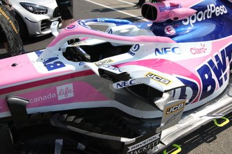 Racing Point RP19 sidepods detail