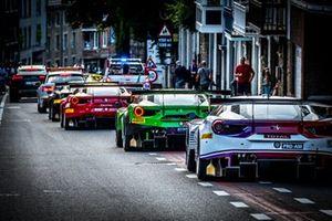 #93 Tempesta Racing Ferrari 488 GT3: Chris Buncombe, Edward Cheever, Chris Froggatt, Giancarlo Fisichella