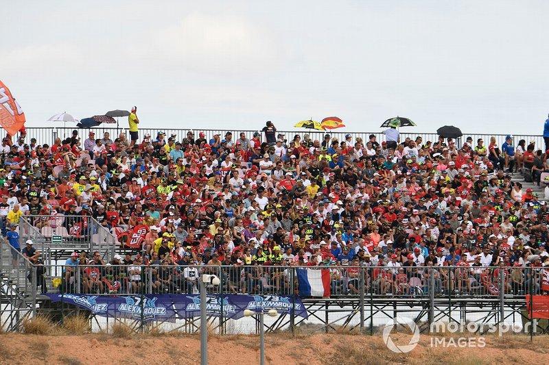 Motorland Aragón - GP de Aragón 2019: 104.390 espectadores (114.057 en 2018)
