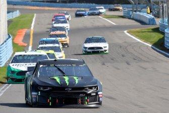 Kurt Busch, Chip Ganassi Racing, Chevrolet Camaro Monster Energy, Joey Logano, Team Penske, Ford Mustang MoneyLion