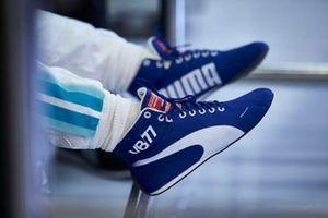 Gli stivali di Valtteri Bottas, Mercedes AMG F1