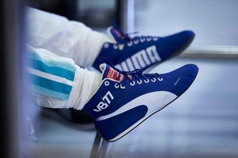 Гоночные ботинки пилота Mercedes AMG F1 Валттери Боттаса