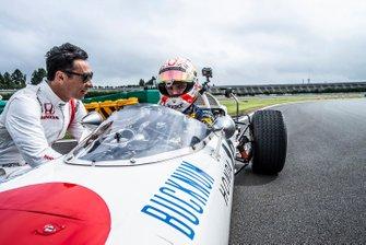 Max Verstappen, Honda RA272 avec Takuma Sato