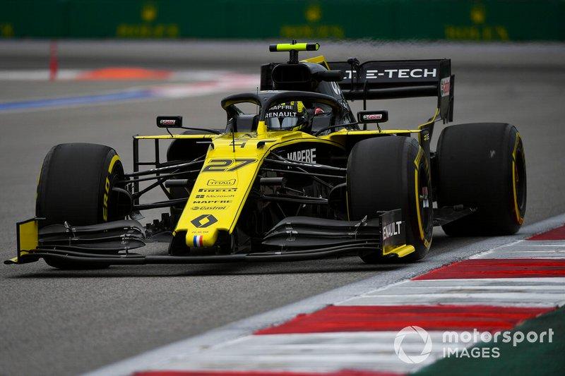 6º: Nico Hulkenberg, Renault F1 Team R.S. 19