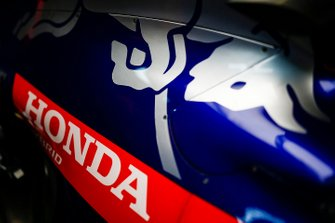 The sidepod of the Toro Rosso STR14