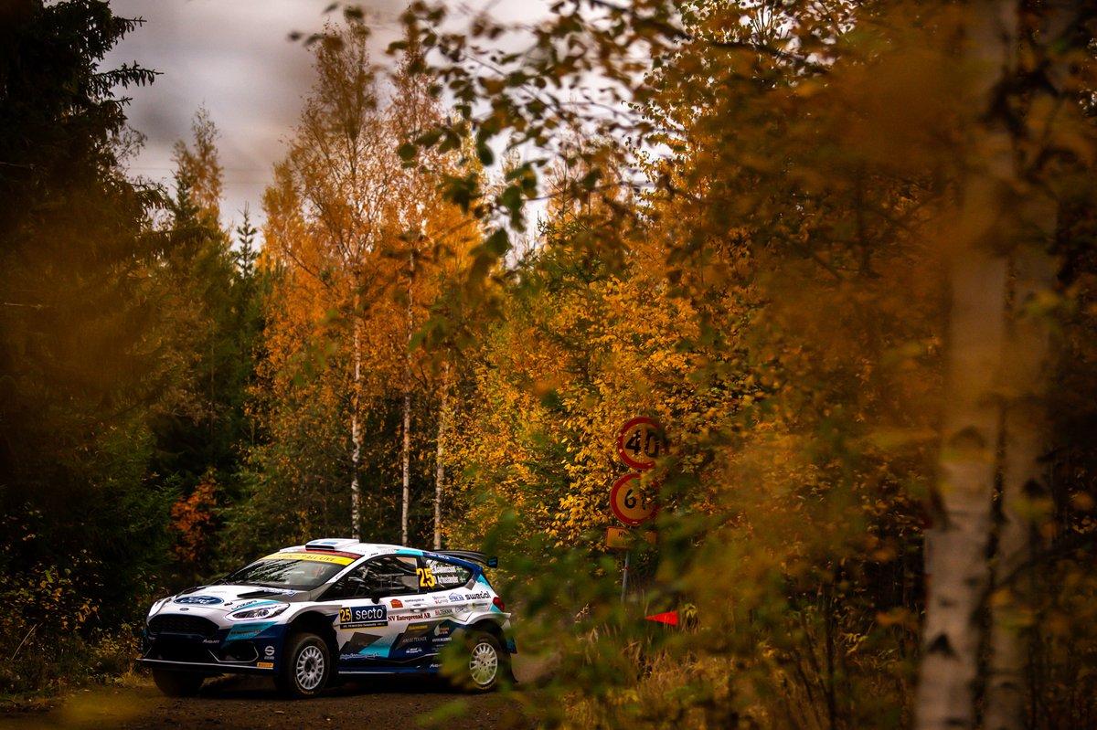 Tom Kristensson, David Arhusiander, M-Sport Ford WRT Ford Fiesta Rally2