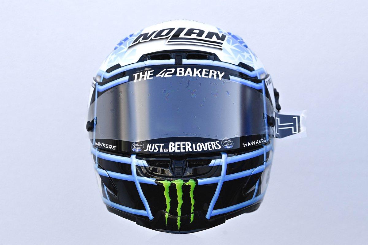 Casco de Alex Rins, Team Suzuki MotoGP