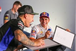 Fabio Quartararo, Yamaha Factory Racing, Marc Marquez, Repsol Honda Team
