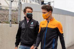 Nyck de Vries en Lando Norris, McLaren
