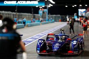 Nick Cassidy, Envision Virgin Racing, Audi e-tron FE07, dans les stands