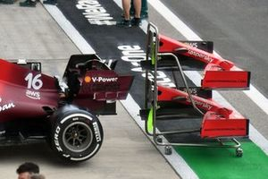Ferrari SF21 rear and front wing