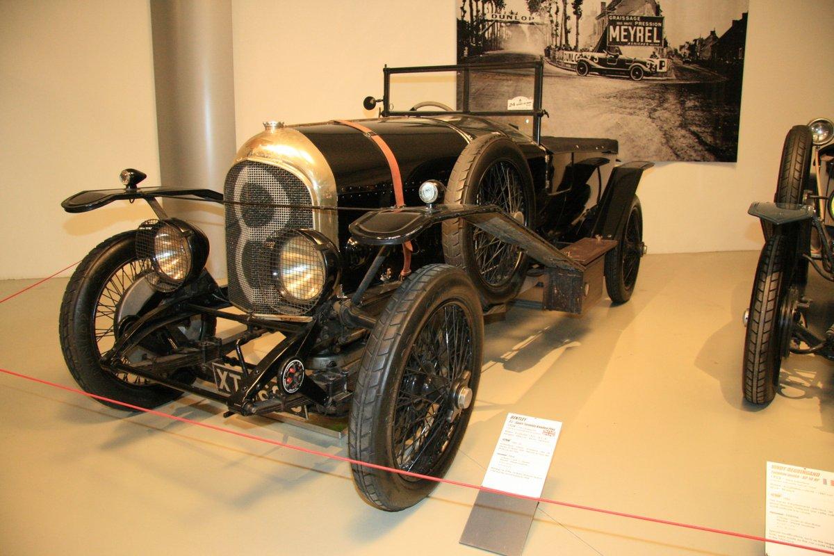 1924年:ベントレー 3ℓスポーツ・トロペード・バンデン・プラス(Bentley 3litter - Sport Torpedo Vanden Plas)