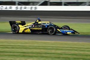 Logo da Gainbridge no carro de Colton Herta na IndyCar