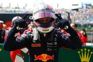 Race winner Dennis Hauger, Prema Racing