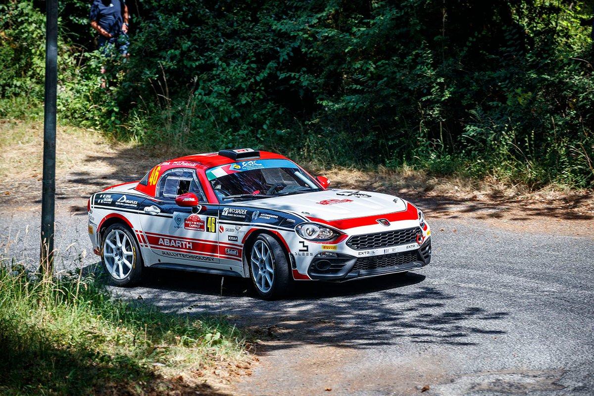 Dariusz Poloński, Łukasz Sitek, Abath 124 Rally