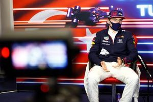 Max Verstappen, Red Bull Racing, 2nd position, in the Press Conference