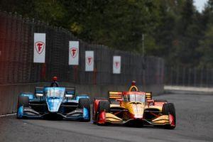 Ryan Hunter-Reay, Andretti Autosport Honda, Max Chilton, Carlin Chevrolet