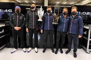 Fernando Alonso, Esteban Ocon, André Negrão, Nicolas Lapierre, Matthieu Vaxiviere, Alpine