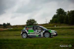 Wojciech Chuchała, Sebastian Rozwadowski, Skoda Fabia Rally2 evo
