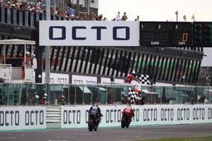 Francesco Bagnaia, Ducati Team chequered flag