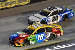 Kyle Busch, Joe Gibbs Racing, Toyota Camry M&M's, Christopher Bell, Joe Gibbs Racing, Toyota Camry SiriusXM