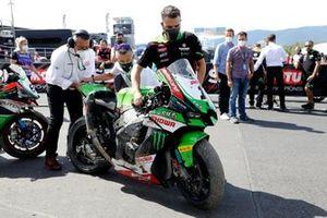 Moto accidentada de Jonathan Rea, Kawasaki Racing Team WorldSBK