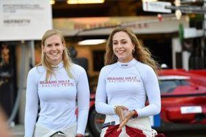#1 Richard Mille Racing Team Oreca 07 - Gibson LMP2, Sophia Florsch, Beitske Visser