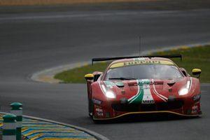 #55 Spirit of Race Ferrari 488 GTE EVO LMGTE Am, Duncan Cameron, David Perel, Matthew Griffin