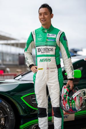 Tomonobu Fujii, #777 D'Station Racing Aston Martin Vantage AMR LMGTE Am