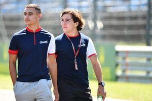 Reshad De Gerus, Charouz Racing System, et Enzo Fittipaldi, Charouz Racing System