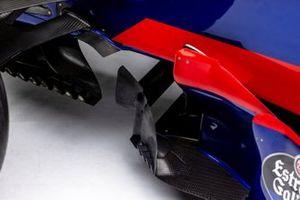 Detail photo of Carlos Sainz Jr.'s 2017 Scuderia Toro Rosso STR12