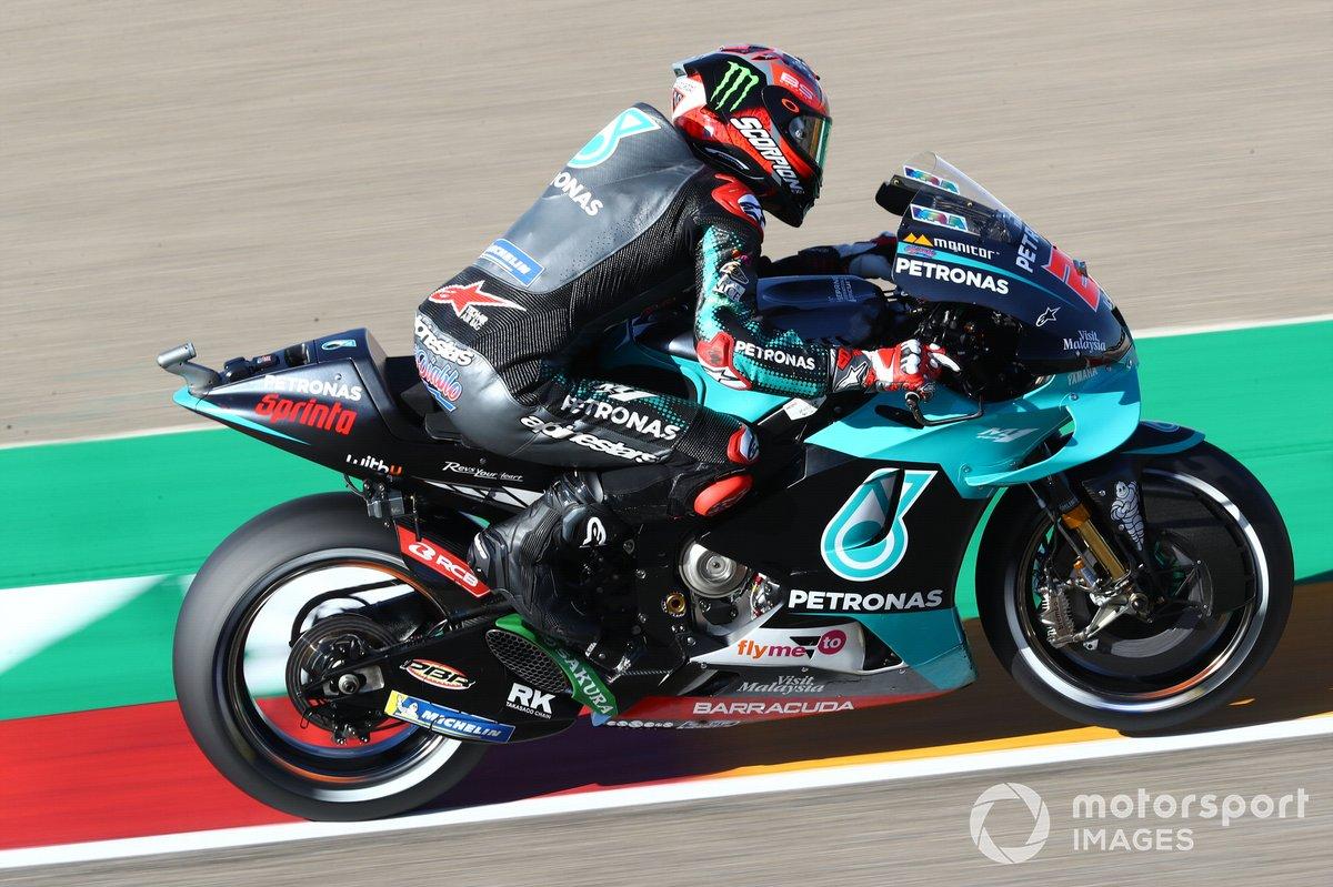 2. Fabio Quartararo - Petronas Yamaha SRT - 123 punti