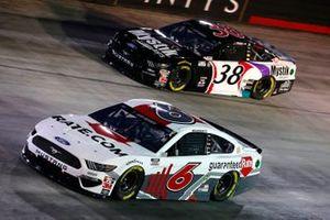 Ryan Newman, Roush Fenway Racing, Ford Mustang Guaranteed Rate, John Hunter Nemechek, Front Row Motorsports, Ford Mustang Mystik Michigan