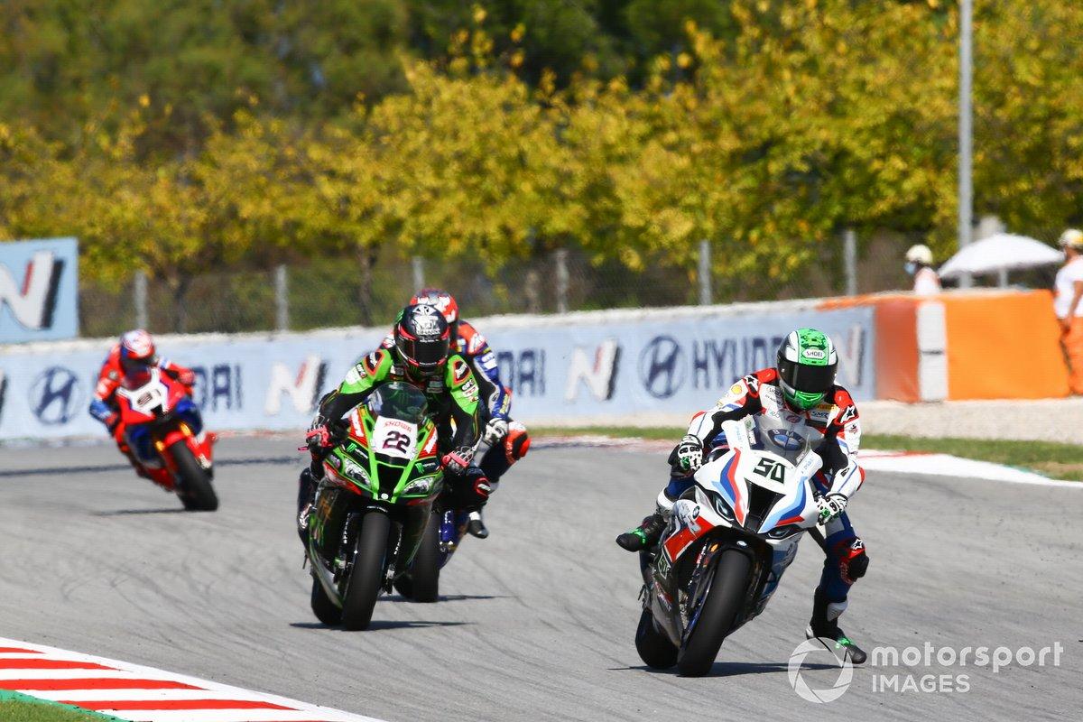 Eugene Laverty, BMW Motorrad WorldSBK Team, Alex Lowes, Kawasaki Racing Team