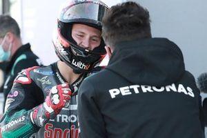 Polesitter Fabio Quartararo, Petronas Yamaha SRT