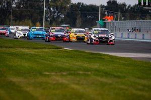 Nestor Girolami, ALL-INKL.COM Münnich Motorsport Honda Civic TCR, Nicky Catsburg, Engstler Hyundai N Liqui Moly Racing Team Hyundai i30 N TCR, Nathanael Berthon, Comtoyou DHL Team Audi Sport Audi RS3 LMS