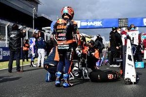 Jorge Martin, Red Bull KTM Ajo, changement de pneus et de suspensions