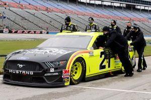 Matt DiBenedetto, Wood Brothers Racing, Ford Mustang Menards / Richmond