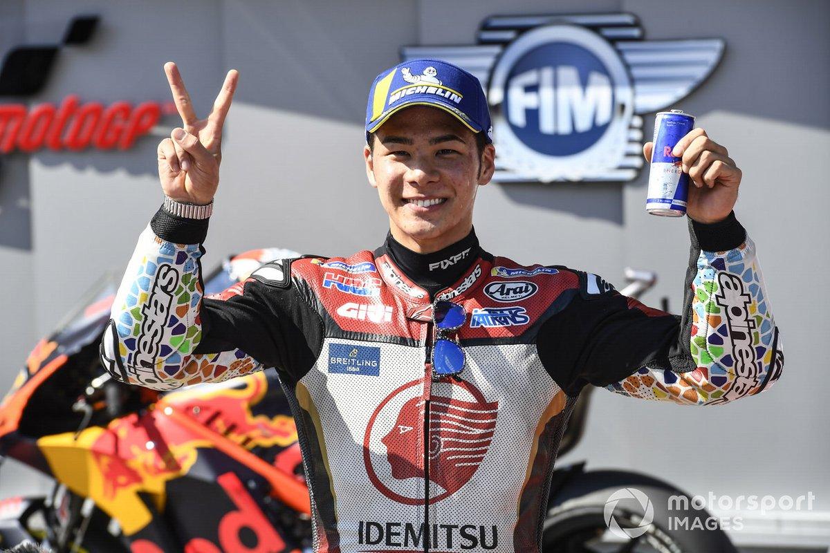 Segundo puesto Takaaki Nakagami, Team LCR Honda