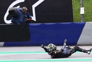 Maverick Vinales, Yamaha Factory Racing crash